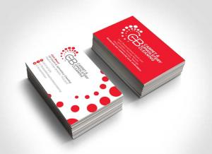 Chris Blood Logo and Business Card