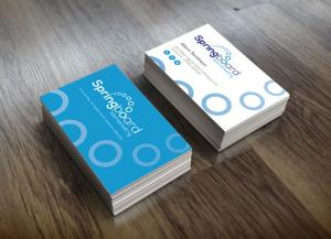 Springboard Logo and Business Card Design